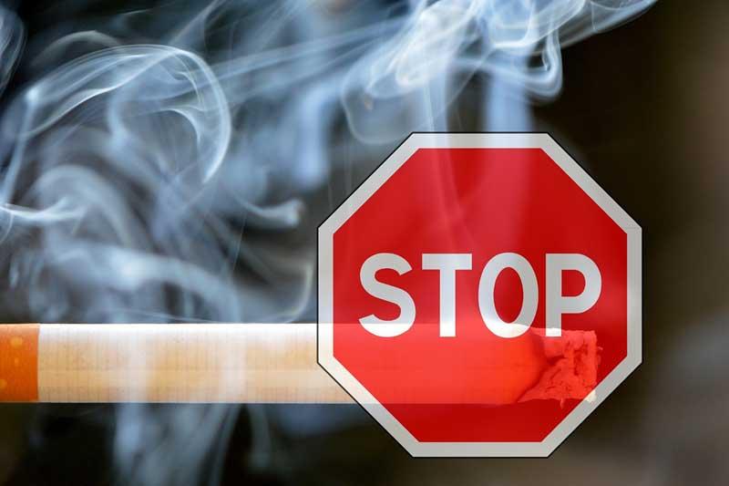 タバコをやめる・タバコを控える
