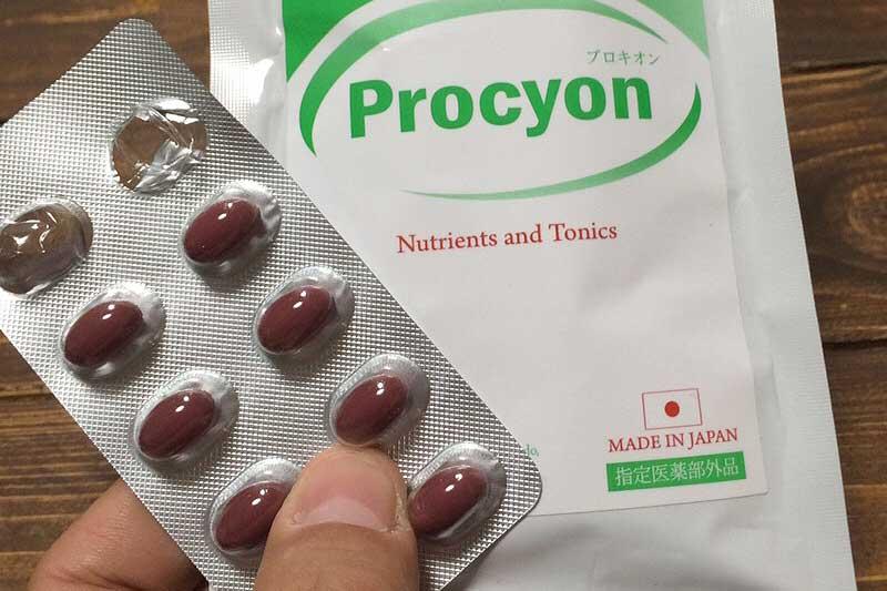 オキソアミヂンをたっぷり含んだプロキオンで検証した